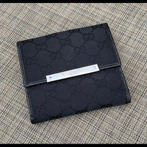 GG Monogram Wallet Authentic